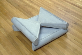 Richard Rezac Sculpture 1985-1996 Cast concrete
