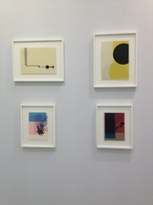 RICHARD CALDICOTT Art Paris Art Fair - Laurent Delaye Gallery 2013