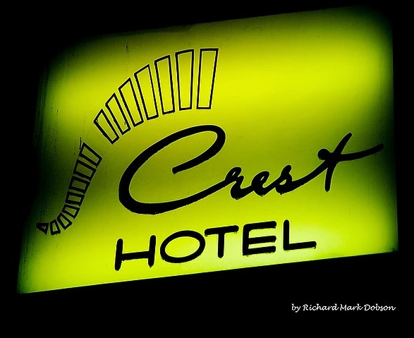 RICHARD MARK DOBSON The Crest Hotel Lambda Chromogenic Print