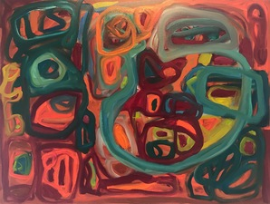 Rifka Milder                                                                                            Recent Paintings oil on lined