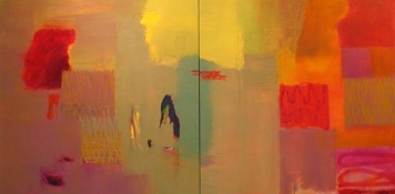 Rita Shapiro Multiple Panel Paintings Oil On Canvas
