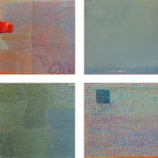Rita Shapiro Mosaics Oil On Canvas