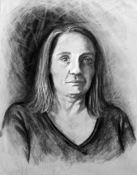 RACHEL MINDRUP Drawings from Life Charcoal and Conte