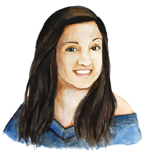 RACHEL MINDRUP Watercolor Portraits of NF Watercolor