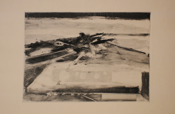 Robbie Sugg Beach Structures Monotype