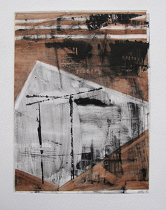 Robbie Sugg Works on Paper Monotype