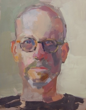Robert Dorlac Portraits oil/panel