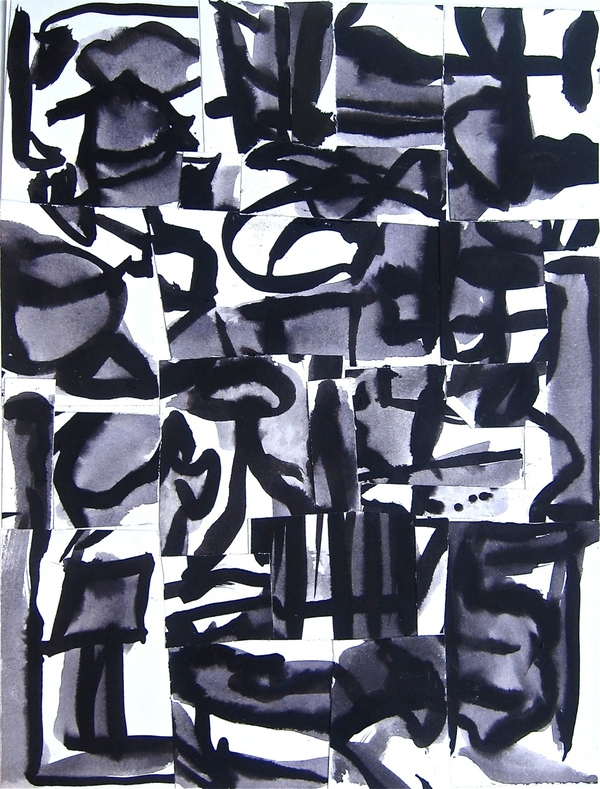 Robert G. Edelman        Art Consultant/Writer/Independent Curator     Collages Ink, ink wash, collage on paper