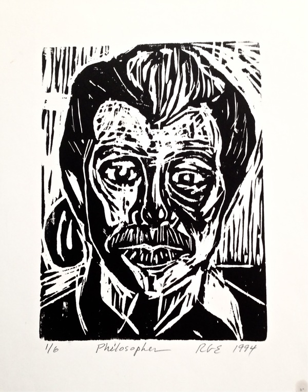 Robert G. Edelman        Art Consultant/Writer/Independent Curator     Prints Linocut on paper