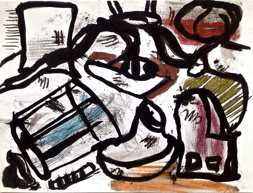 Robert G. Edelman        Art Consultant/Writer/Independent Curator     Works on paper Acrylic, Ink, charcoal, watercolor on paper