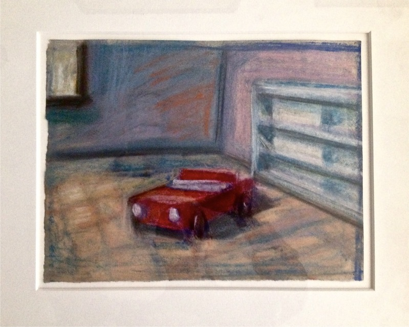 Robert G. Edelman        Art Consultant/Writer/Independent Curator     Interiors 90's Pastel and graphite on paper