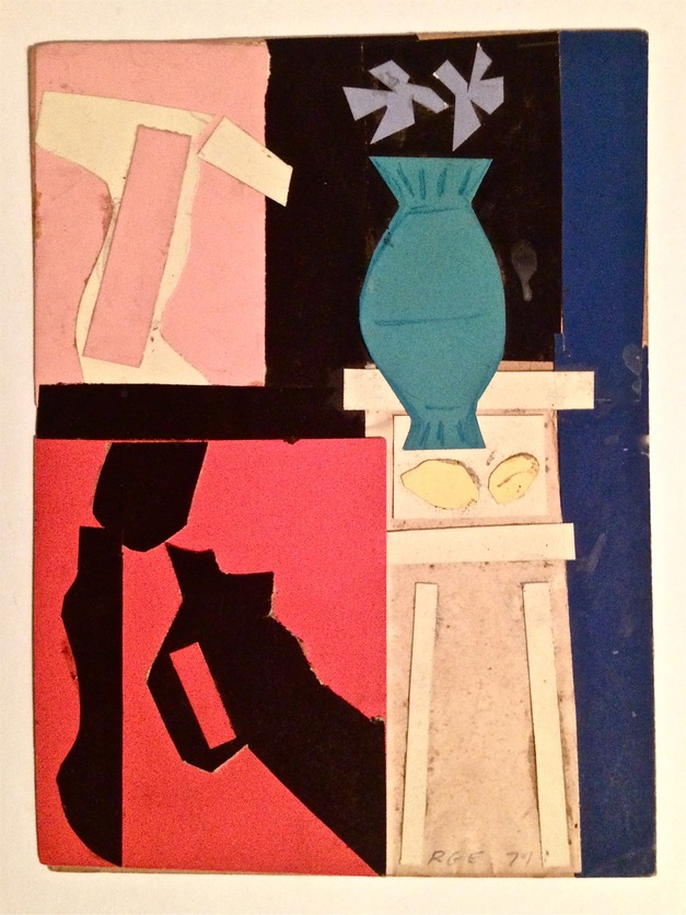 Robert G. Edelman        Art Consultant/Writer/Independent Curator     Collages Colored paper on card