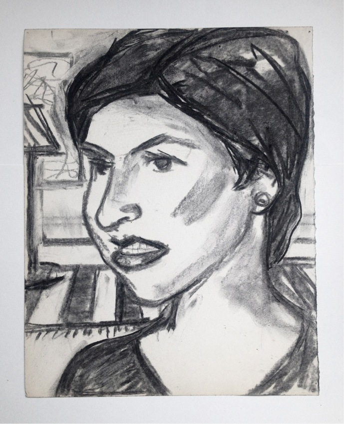 Robert G. Edelman        Art Consultant/Writer/Independent Curator     Works on paper Charcoal on paper