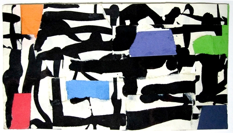 Robert G. Edelman        Art Consultant/Writer/Independent Curator     Collages ink, collage on paper