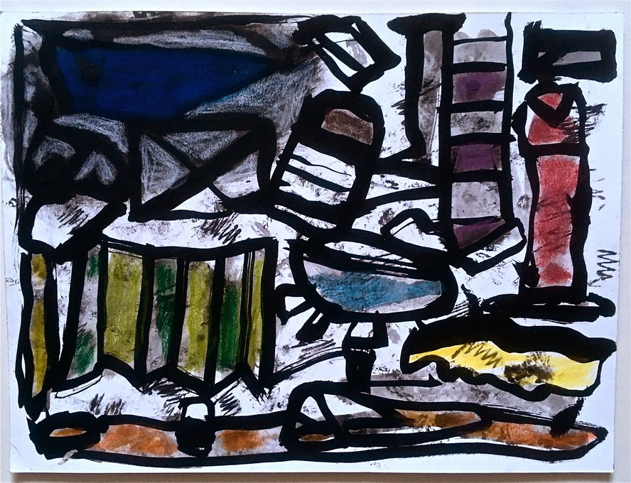 Robert G. Edelman        Art Consultant/Writer/Independent Curator     Works on paper Acrylic, ink, charcoal, pastel on paper