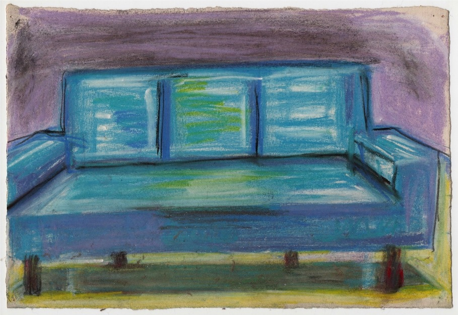 Robert G. Edelman        Art Consultant/Writer/Independent Curator     Interiors  Pastel, graphite on paper