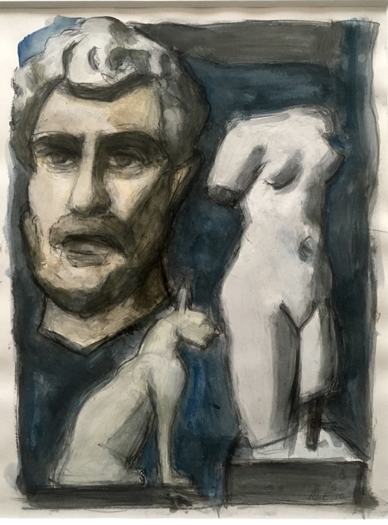 Robert G. Edelman        Art Consultant/Writer/Independent Curator     Works on paper Acrylic, ink, graphite on paper