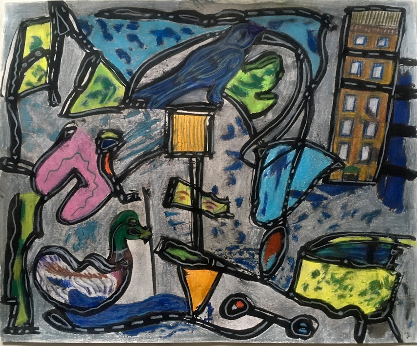Robert G. Edelman        Art Consultant/Writer/Independent Curator     Works on paper Acrylic, ink, pastel, charcoal on paper