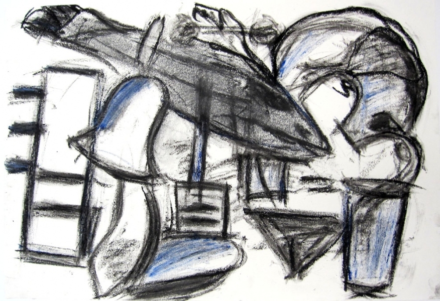 Robert G. Edelman        Art Consultant/Writer/Independent Curator     Works on paper Oil stick and graphite on paper