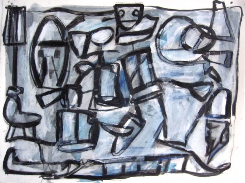 Robert G. Edelman        Art Consultant/Writer/Independent Curator     Works on paper Acrylic, graphite and pastel on paper