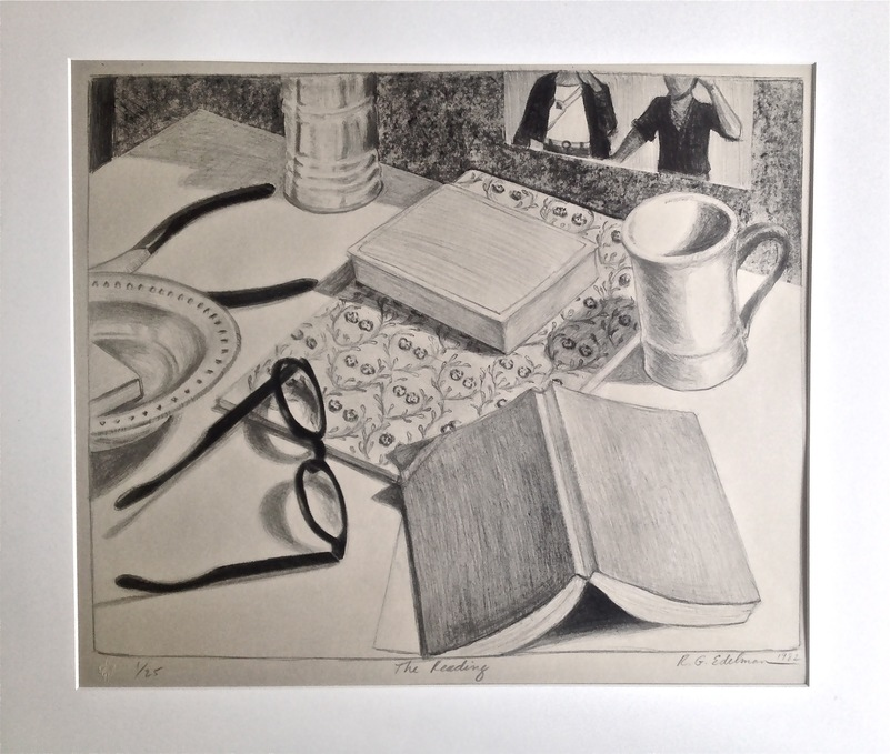 Robert G. Edelman        Art Consultant/Writer/Independent Curator     Prints Lithograph on paper