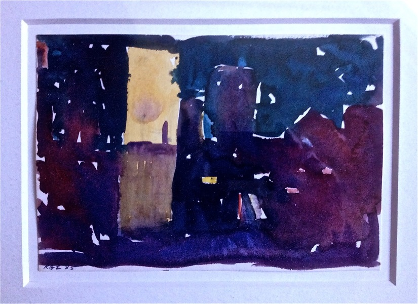 Robert G. Edelman        Art Consultant/Writer/Independent Curator     Works on paper watercolor on paper