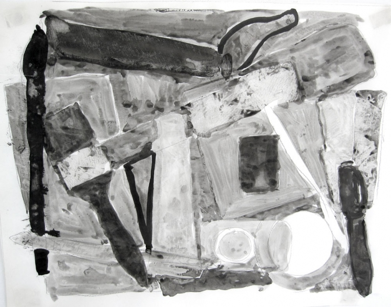 Robert G. Edelman        Art Consultant/Writer/Independent Curator     Works on paper ink on tracing paper