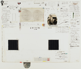 ROBERT PETERSEN Journal Drawings 1976-1988 Drawing collage on paper