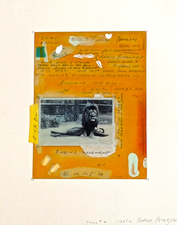ROBERT PETERSEN 2012-2013 Mixed media collage and photo transfer on paper