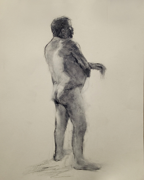 Drawing Man Standing