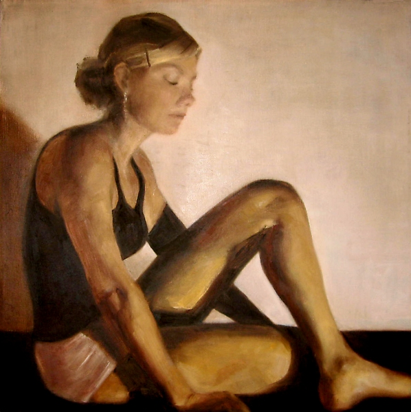 Paintings 2007-2009 Dancer II