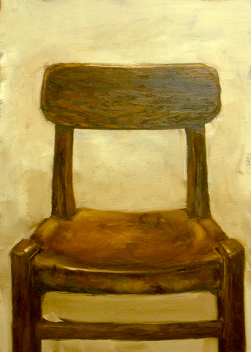 Paintings 2007-2009 Brown Chair
