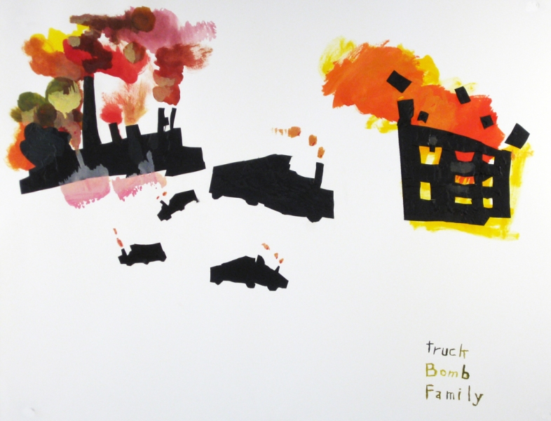 Works on paper  2000 to Present Truck Bomb Family