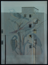 Ron Bimrose Aviary series Mixed-media on chromolithograph