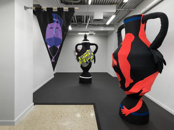 Gymnasia Installation View in the Project Room at BRIC