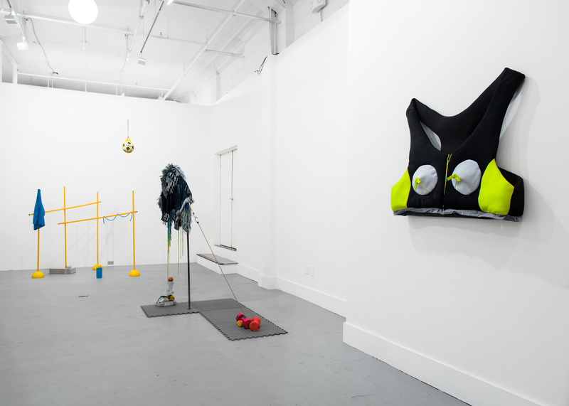 Area Installation View with Ben Spalding and Anna Queen