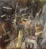 Roz Sommer Aftermath Paintings oil on board