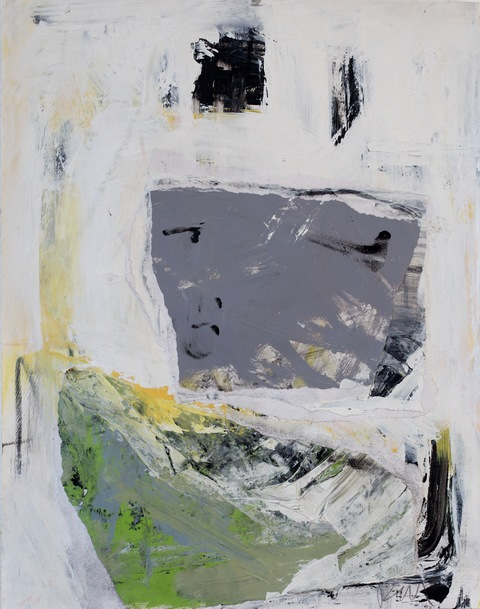 Ruth Mordecai Works on Paper small scale 2013 - 2011  Acrylic, collage and oil on gessoed paper