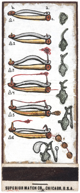 archive matchbook sequence 1