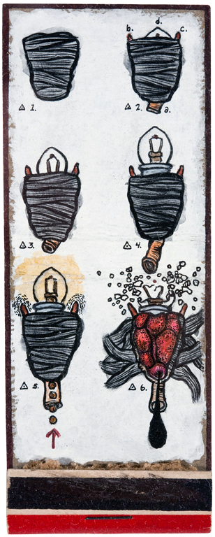 archive matchbook sequence 3