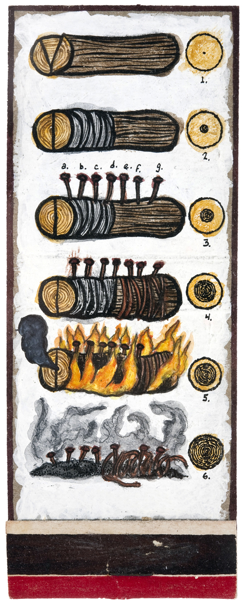 archive matchbook sequence 4