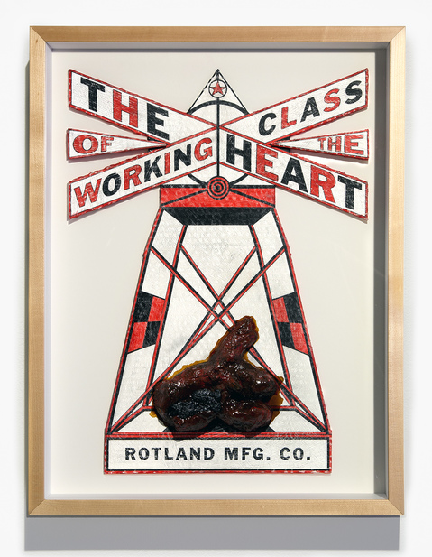 painting THE HEART OF THE WORKING CLASS!