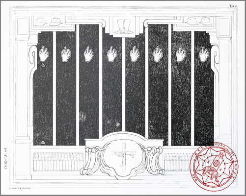 archive lithography with relief