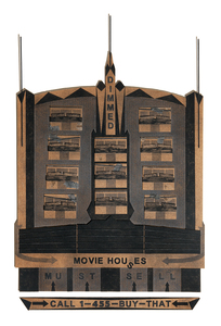 Black Marquee No. 1: Movie Houses