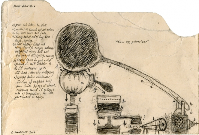 archive graphite on used file folder fragment