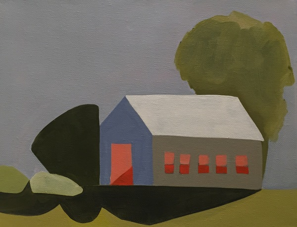 Sage Tucker-Ketcham Places and Landscapes Oil on Canvas