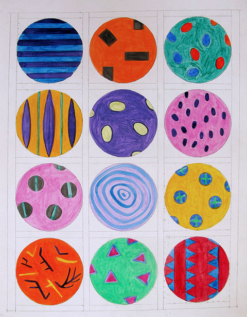 JEWELRY FOR BUILDINGS Camouflage Bead Study