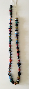 CERAMIC BEADS, BIG, SMALL, NECKLACES