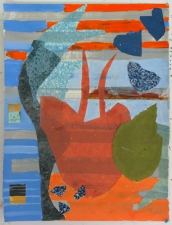 Sally Bowring Works on Paper hand-made paper