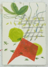 Sally Bowring Works on Paper had-made paper